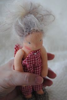 FairyWoolDolls Blog: This is the Story of little Stinker