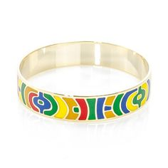 Parisian Enamel Cuff Small now featured on Fab.