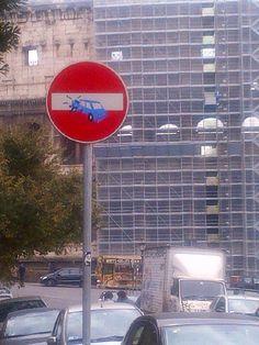 Be careful Colosseum!