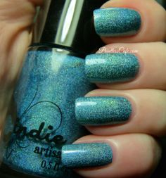 Jindie Nails Blue and Green's Love Child: Exclusive for April's A Box, Indied