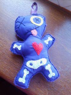Cute Soft Voodoo Doll Toy Pin cushion by HeartWarmingCraft on Etsy Voodoo Dolls, Pretty Cool, Pin Cushions, Doll Toys, Creepy, Dinosaur Stuffed Animal, Cool Stuff, Cute, Gothic