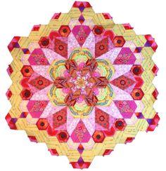 The New Hexagon Millefiore Quilt-Along: Rosette #1 – Red Thread Studio