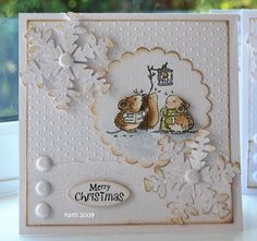 Penny Black..Christmas Critters Clear Stamp Set