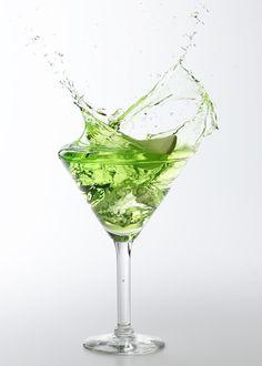 Apple Martini. Yum.