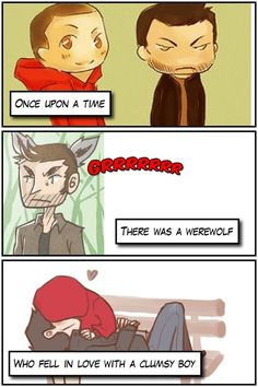 #1 of the Sterek fanarts I have saved