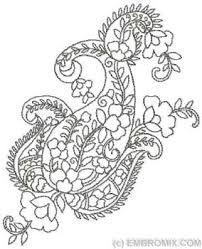 Image result for paisley designs for embroidery