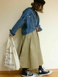 a1ac3d46e4d Sa.♡|w closetのスカートを使ったコーディネート. 一度オンラインショップでは即完売 ...