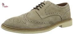 Tommy Hilfiger M2285etro 2b, Brogues Homme, Beige (Taupe 255), 43 EU - Chaussures tommy hilfiger (*Partner-Link)