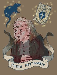 "School of Sorcery and Magic ""Hogwarts."" PETER PETTIGREW"