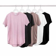 8f8c251a2 Man Si Tun 2017 Summer Pure T shirt Wholesale Extended Long T shirt Mens  Hip Hop New design Street Men Cheap T shirt Hot sell-in T-Shirts from Men's  ...