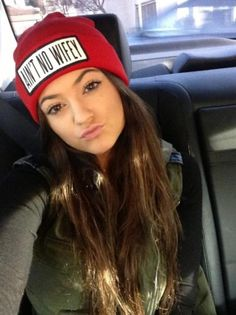 Taking Picture With My Beanie Hat | #KylieJOfficial #KylieJenner #BeanieHats