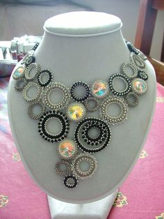 The colors and the shape (venduta in fiera): BeadsQueen