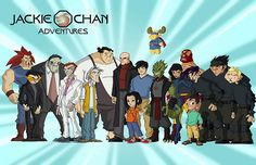 (One of my favorite cartoons ... when I was 15. What? #JackieChanAdventures)- (Wikipedia, the free encyclopedia) This series ran on Kids' WB! from September 9, 2000 to July 8, 2005 for a total of 95 episodes, or 5 seasons. -VM