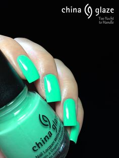 Fashion Polish: China Glaze A Sunsational Neon Summer Collection Review