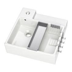LILLÅNGEN Lavabo IKEA Garantie 10 ans gratuite. Détails des conditions disponibles en magasin ou sur internet.