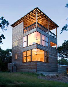 Austin Texas Tower House | WANKEN - The Art & Design blog of Shelby White