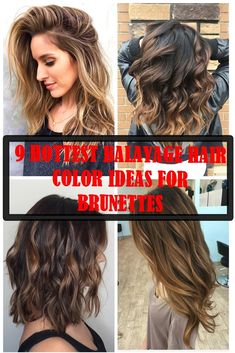 we'd like to show the most 10 hottest caramel balayage hair ideas for brunettes, let's have a look.These are some of our favorite caramel balayage balayage hair ideas to inspire you! Going Blonde From Brunette, Brunette With Blonde Highlights, Brunette Color, Caramel Highlights, Red Highlights, Brunette Hair, Long Red Hair, Thick Hair, Hair Color For Women