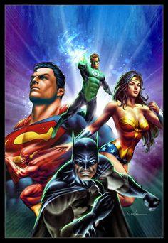 #Justice #League #Of #America #Fan #Art. (The Justice League of America) By: Carlos Valenzuela. (THE * 5 * STÅR * ÅWARD * OF: * AW YEAH, IT'S MAJOR ÅWESOMENESS!!!™)[THANK Ü 4 PINNING!!!<·><]<©>ÅÅÅ+(OB4E)   https://s-media-cache-ak0.pinimg.com/564x/12/a3/da/12a3da17a478766422430ac6c8f50ded.jpg
