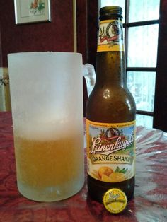 Leinenkugel Orange Shandy. This could be a Summer/Fall favorite...try it, you'll like it! Kinda like it better than Summer Shandy.