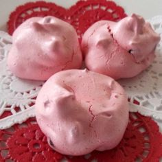 these sweet little babies are so  good.I make these for my daughter at Valentines day Parties... DO NOT DOUBLE  RECIPE.. NOTE; One picture are ones I added cocoa powder to the tops and Omitted the choco pieces in the recipe..