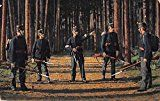 #10: Switzerland Swiss Army Soliders Antique Postcard J65520