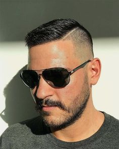 Best High And Tight Haircuts For Men (Top 44 Picks) In need of a new look that is trendy and chic? Go for these high and tight haircuts that have got all you to look elegant and refined. Trendy Mens Hairstyles, Mens Hairstyles With Beard, Cool Haircuts, Hair And Beard Styles, Haircuts For Men, Short Hair Styles Men, Men Haircut Short, Short Hairstyles For Men, Haircut Medium