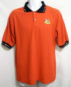 Chuck E Cheese VINTAGE employee polo rugby t shirt by VaryVintaged, $22.00