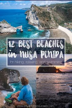 Top 12 Nusa Penida Beaches, divided by the best beaches for views and hiking, swimming and diving, and hidden gems away from the crowds. If you love adventure,sunsets, and beaches - you'll love this little island off of Bali's coast! #bali #nusapenida #beaches #beach Backpacking South America, Backpacking Asia, China Travel, India Travel, Bali Travel Guide, Travel Tips, Weather In India, Best Sunset, Beautiful Places To Visit