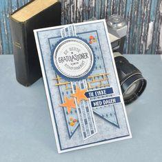 """Papirdesign on Instagram: """"Konfirmasjonskortsinspirasjon 💙 ønsker dere alle en kreativ og flott helg 😊 #papirdesign #papirdesigndies #hjemmelaget #hjemmelagetkort…"""" Dere, Handmade Cards, Layouts, Boys, Design, Craft Cards, Baby Boys, Card Making, Homemade Cards"""