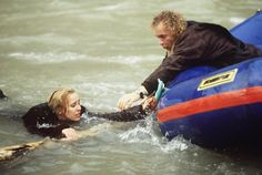 Luke (Anthony Geary) managed to save Laura (Genie Francis) before she plummeted over a waterfall. They became aware that Frank Smith is after them again, and they flee to Port Charles. Genie Francis, Luke And Laura, Hospital Photos, A Moment In Time, I Gen, Best Soap, Falling In Love With Him, Young And The Restless, General Hospital