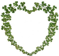 Here are six Shamrocks for St. There are pretty green shamrocks adorned with flowers, ribbon, and the face of a sweet little girl. St Paddys Day, St Patricks Day, Saint Patricks, Irish Cottage, Heart Wreath, Heart Garland, Irish Eyes, Irish Blessing, Irish Celtic