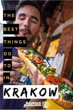 Things to do in Krakow – Pinterest