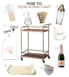 "When Kevin and I got our ""bar cart"", I used it as a ""tea cart"". We received a beautiful sterling silver tea set from Kevin's parents, so I outfitted my tea cart with … Diy Bar Cart, Gold Bar Cart, Bar Cart Styling, Bar Cart Decor, Bar Carts, Cheap Bar Cart, Golf Carts, Bar Deco, Silver Tea Set"