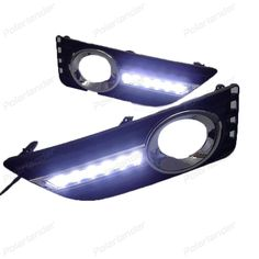 81.94$  Watch now - http://aiqkl.worlditems.win/all/product.php?id=32798990509 - Daytime Running Lights drl For T/oyota C/amry Low C/onfiguration 2012 - 2015 Turn Signal Fog Lamp LED Car Styling