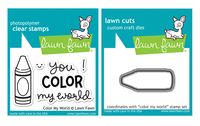 Lawn Fawn Stamps & Dies Bundle - Color My World