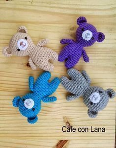 Mesmerizing Crochet an Amigurumi Rabbit Ideas. Lovely Crochet an Amigurumi Rabbit Ideas. Beau Crochet, Crochet Mignon, Crochet Teddy, Crochet Bear, Love Crochet, Beautiful Crochet, Crochet Animals, Knitted Dolls, Crochet Dolls