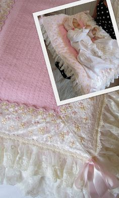Angela Lace: Baby Pillows