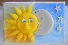 Le soleil et la Lune en plein jour