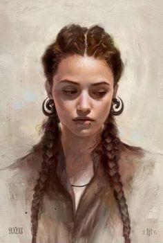 Portrait by Tom Bagshaw