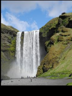 Iceland Skogafoss May 2014