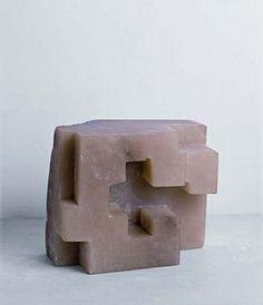 Eduardo Chillida, Untitled Concrete Stone, Id Design, Plastic Art, Artwork Images, Sculptures For Sale, Contemporary Sculpture, Land Art, Minimalist Art, Sculpture Art