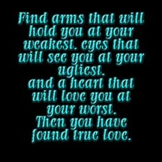 Find true love. #Love