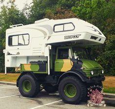 custom rides of all kinds 4x4 Camper Van, Pickup Camper, Mercedes Benz Unimog, Mercedes Truck, 4x4 Trucks, Truck Camper, Off Road Camping, Camping Gear, Hummer Truck