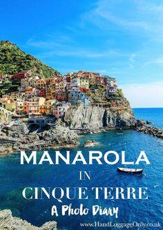 Manarola in Cinque Terre, Italy - The Photo Diary! of - Hand Luggage Only - Travel, Food Sorrento Italy, Naples Italy, Sicily Italy, Tuscany Italy, Capri Italy, Venice Italy, Italy Vacation, Vacation Destinations, Italy Trip