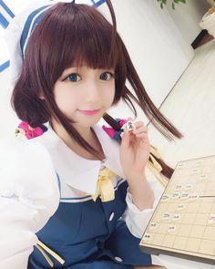 Title : Ryuuou no Oshigoto! Kawaii Cosplay, Cute Cosplay, Cosplay Girls, Cosplay Costumes For Sale, Anime Cosplay Costumes, Real Yami, Kawaii Faces, Japanese Anime Series, Kawaii Girl