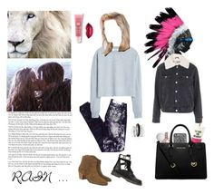"""""""RAIN ..."""" by bellcara ❤ liked on Polyvore featuring Blank Denim, MANGO, Isabel Marant, See by Chloé, Avenue, Kate Spade, Lancôme, Topshop and MICHAEL Michael Kors"""