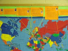 Blog post teaching preschoolers about children around the world...books to read, crafts, games - ideas for Missions Sunday