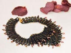 Nyx Goddess of Night Choker-Style Necklace Fashion jewelry #black #necklace #jewelry #fashion $90 @Maria Veigman