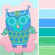 Mental Color Palette 10 - Calm down your irritation
