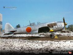 "bmashina: "" photo experimental interceptor Nakajima Ki-87 """